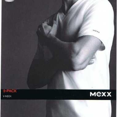 2 v hals heren shirts mexx