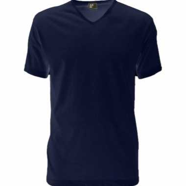 Alan red dun v hals t-shirt