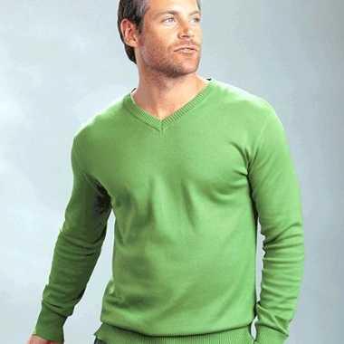 Heren pullover v-hals
